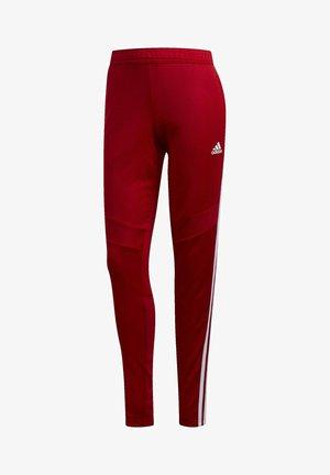 TIRO PANT AEROREADY FOOTBALL PANTS - Spodnie treningowe - Red