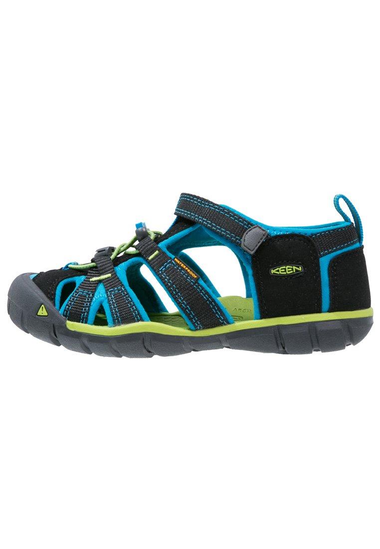 Kids SEACAMP II CNX - Walking sandals - black/blue danube