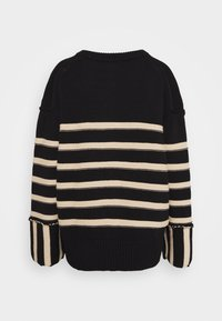 House of Dagmar - MAZZY ROUNDNECK - Maglione - black - 6