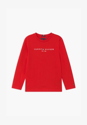 ESSENTIAL TEE UNISEX - Long sleeved top - red