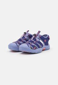 TrollKids - KIDS KVALVIKA UNISEX - Walking sandals - dark purple/lavender - 1