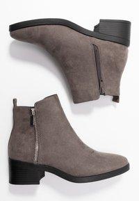New Look - BRISK - Ankelstøvler - mid grey - 3