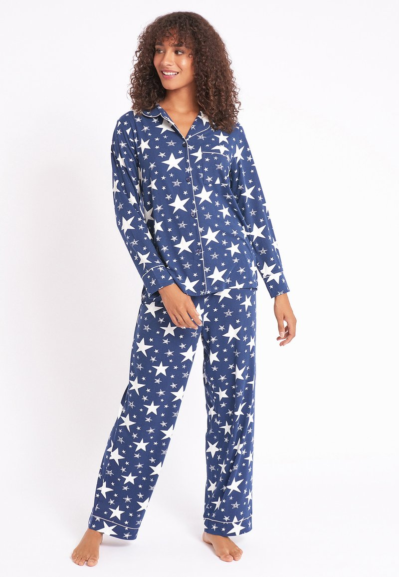 Chelsea Peers - NYC SPARKLE - Pyjama set - blue