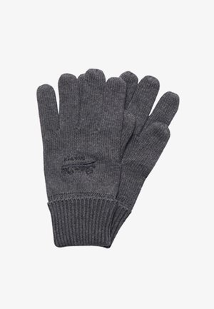 VINTAGE LOGO CLASSIC - Gloves - rich charcoal marl