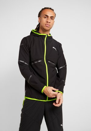 RUNNER ID JACKET - Sports jacket - puma black