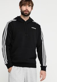 adidas Performance - Hoodie - black/white - 0