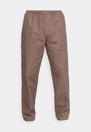 EASY PANT - Trousers - grey grape