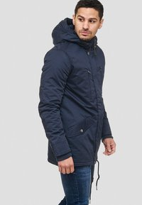 INDICODE JEANS - Winter jacket - dark blue - 3