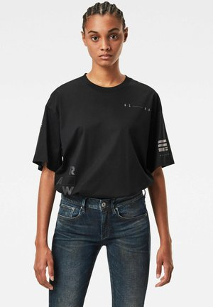SMALL GRAPHIC CARRNI LOOSE - T-shirt print - dk black