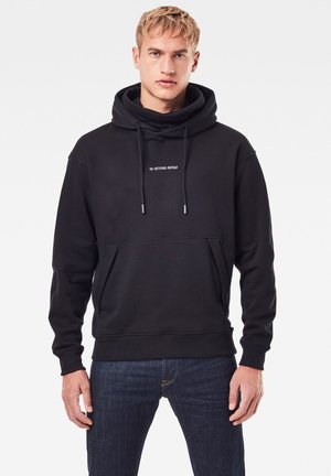 FUNNEL HOODED - Sweat à capuche - dk black