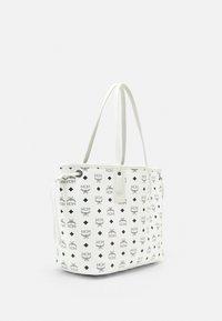 MCM - SHOPPER PROJECT VISETOS MEDIUM SET - Tote bag - white - 2