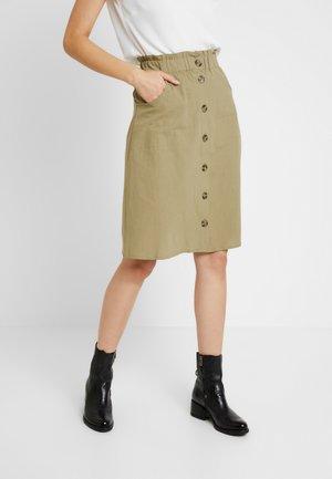 MILA SKIRT - A-line skirt - covert green