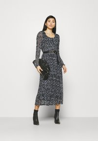 Freequent - Day dress - black mix - 1