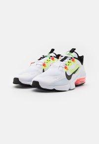 Nike Sportswear - AIR MAX INFINITY 2 AMD - Zapatillas - white/black/bright crimson/volt - 1