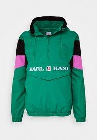 Karl Kani - UNISEX RETRO BLOCK  - Windbreaker - turquoise - 0