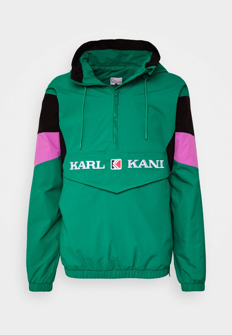 Karl Kani - UNISEX RETRO BLOCK  - Windbreaker - turquoise