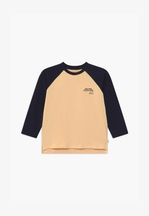 PRETZEL RIDE TEE UNISEX - Long sleeved top - cream/navy