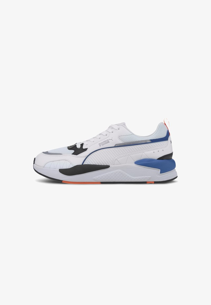 Puma - X-RAY 2 SQUARE - Trainers - white-white-black-lapis blue