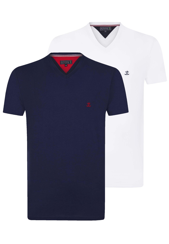 Uomo SHORT SLEEVE 2ER PACK - T-shirt basic