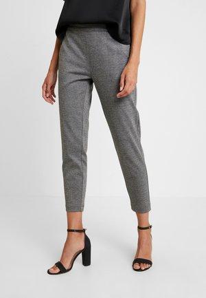 BETH - Trousers - grey melange