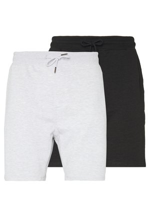 2 PACK - Kraťasy - black/grey