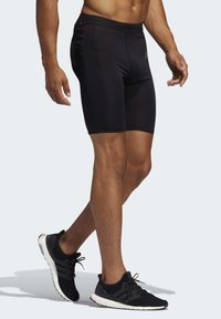 adidas Performance - OWN THE RUN SHORT TIGHTS - Sports shorts - black - 2