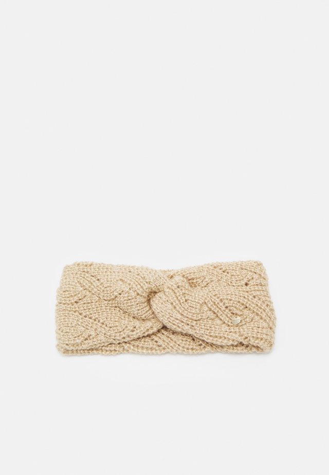 MAYA HEADBAND - Ear warmers - beige/gold