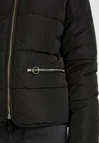 Topshop - JACK HOOD PUFFER - Winter jacket - black - 7