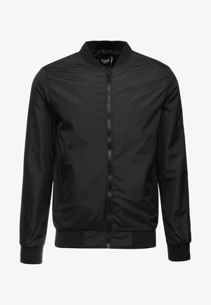 SANJAY - Bomber Jacket - black