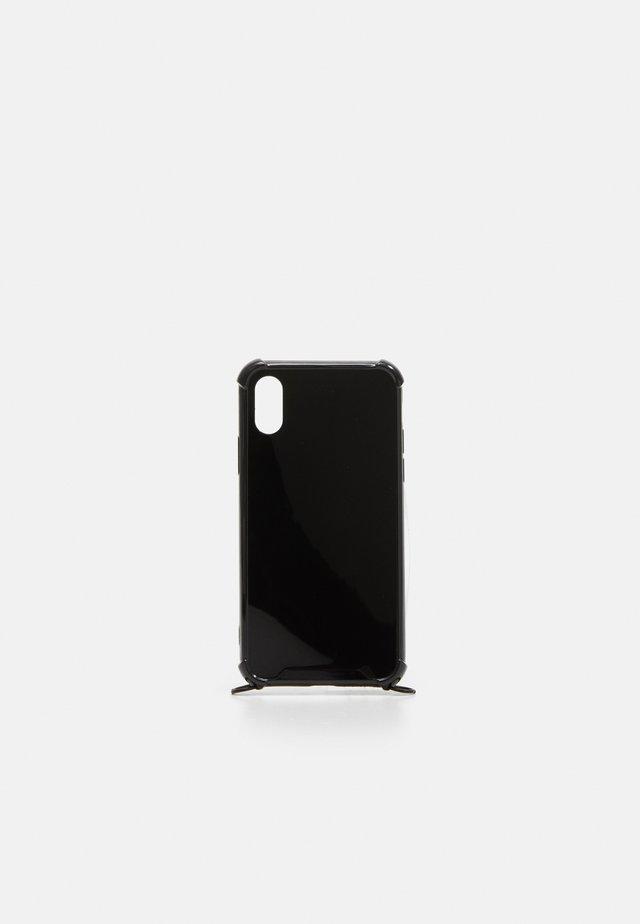 CASE NECKLACE BLACK iPHONE 6S 7S 8S - Obal na telefon - black