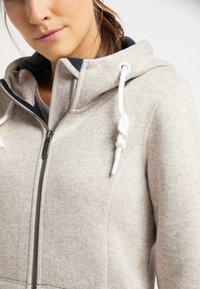 ICEBOUND - Fleece jacket - elfenbein melange - 3