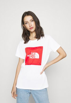 BOX TEE - T-shirts print - white