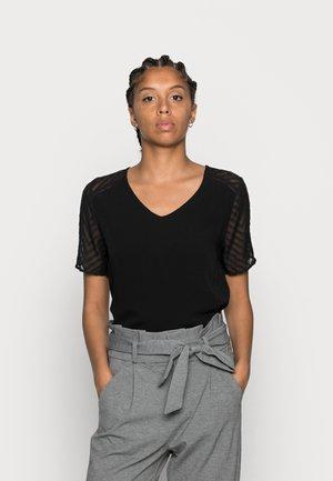 OBJZOE - Print T-shirt - black