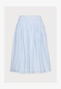 YAS Petite - YASSTRILLA  MIDI SKIRT - A-line skirt - cashmere blue - 4