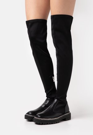 DAMEN - Over-the-knee boots - black