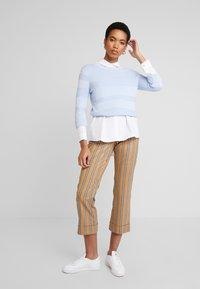 Mos Mosh - BELLA ZETH PANT - Trousers - bran - 2