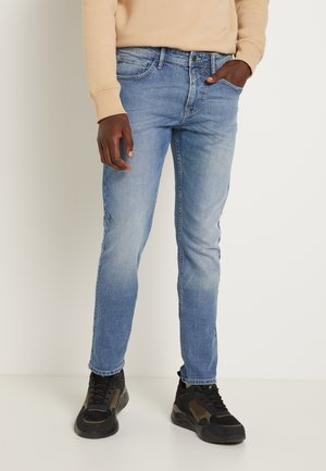 PIERS STRETCH - Slim fit jeans - mid stone wash denim blue
