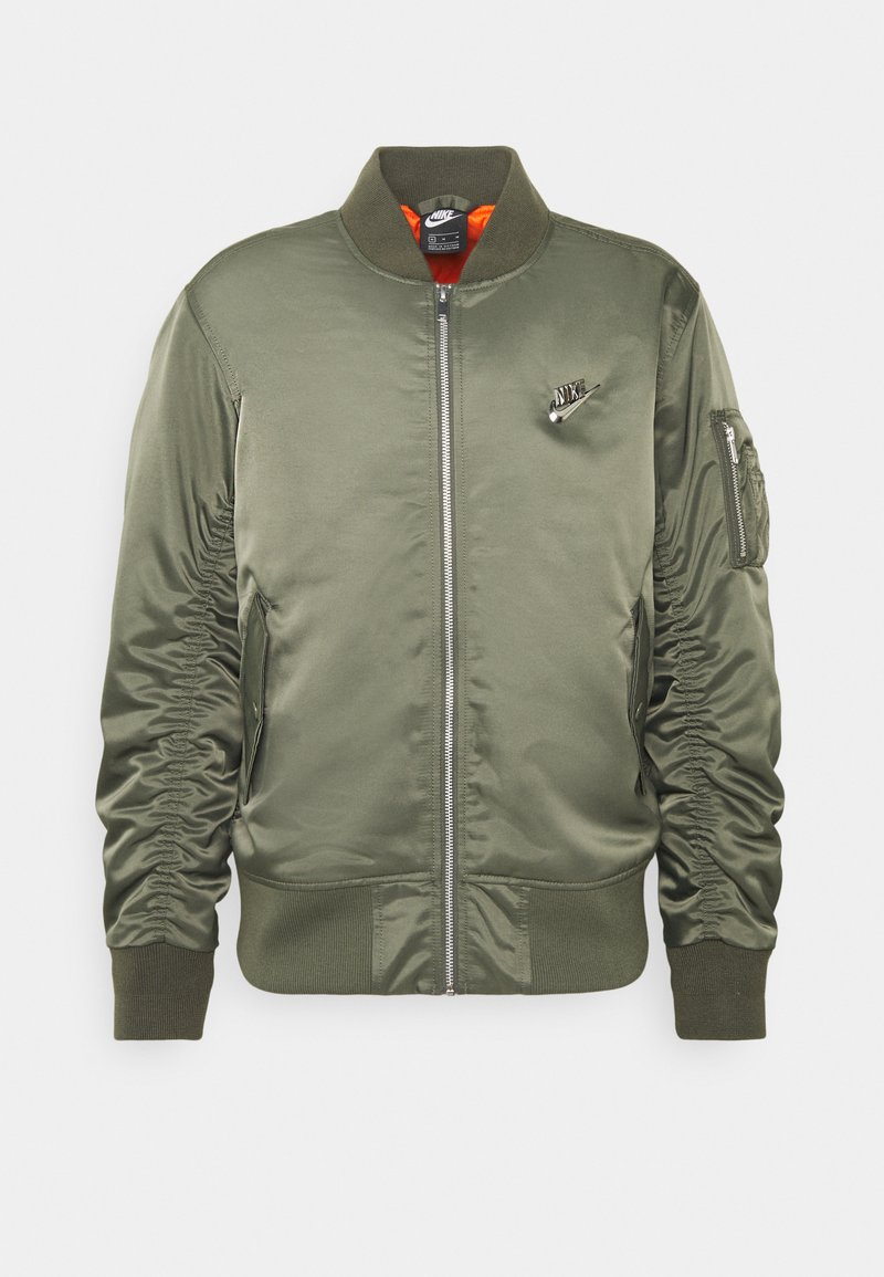 Nike Sportswear - PUNK BOMBER JACKET - Giubbotto Bomber - twilight marsh/electro orange