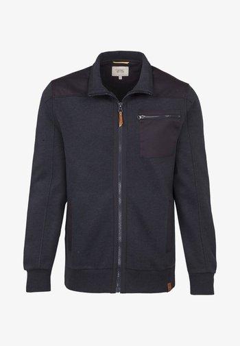 Zip-up sweatshirt - marine core