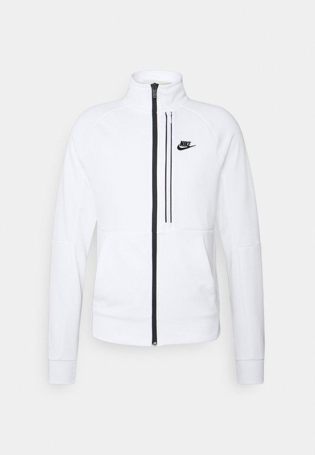 TRIBUTE - Veste de survêtement - white/black
