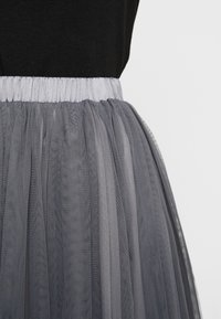 Lace & Beads - VAL SKIRT - A-Linien-Rock - charcoal - 5