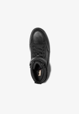 RUBY ANN CHUKKA - High-top trainers - black full grain