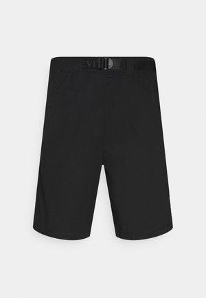 BELTED UTILITY UNISEX - Shorts - blacks