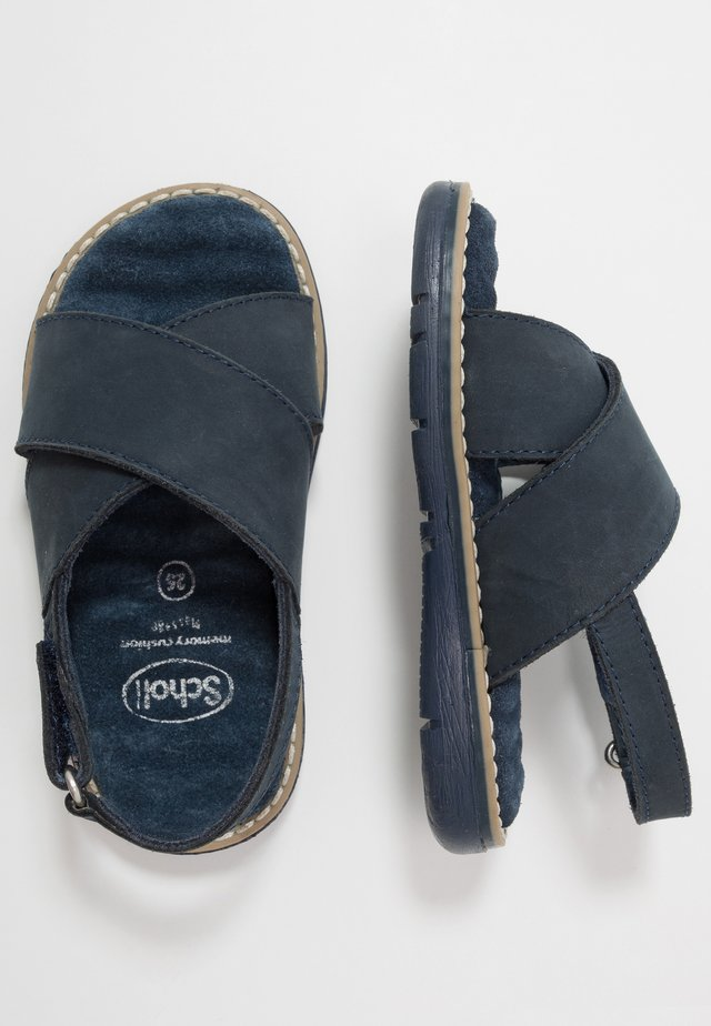 TRIOLINE - Sandals - marine