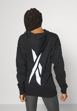 OVERSIZED HOODY - Sweatshirts - black