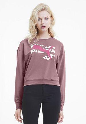 KVINNA - Sweatshirt - foxglove