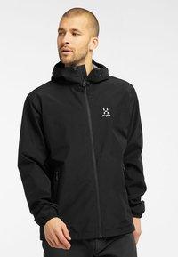 Haglöfs - BETULA GTX JACKET - Hardshell jacket - true black - 0
