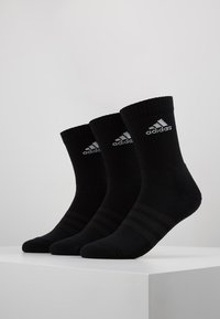 adidas Performance - CUSH 3 PACK - Sports socks - black/white - 0
