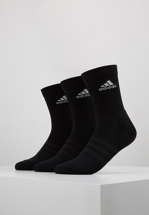 CUSH 3 PACK - Sports socks - black/white