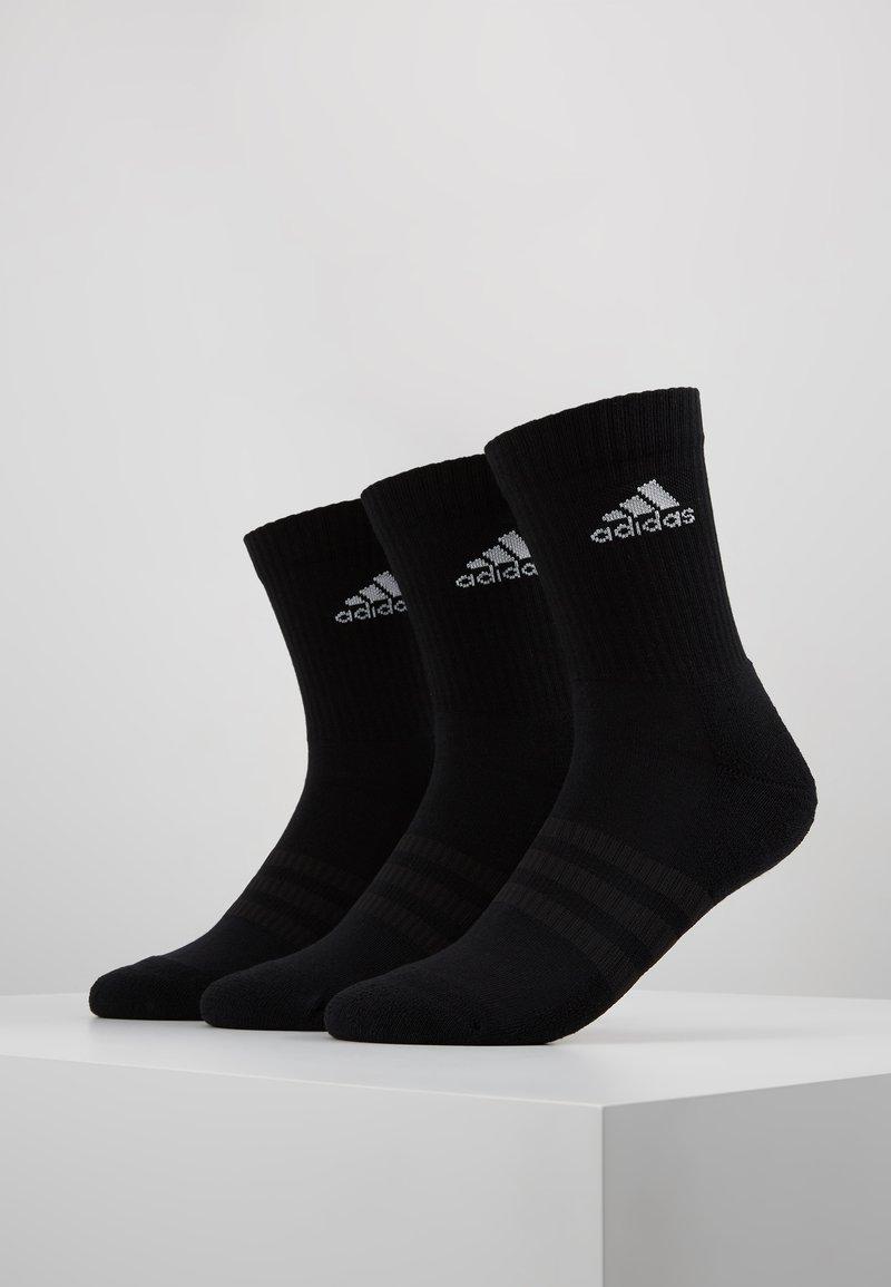 adidas Performance - CUSH 3 PACK UNISEX - Sportsstrømper - black/white